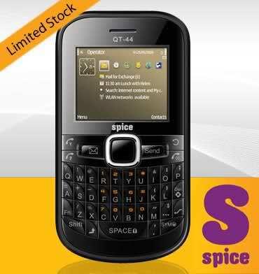 spice mobile qt44