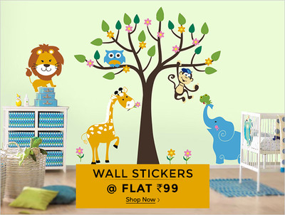 shopclues:- wall stickers @ flat rs.99 | desidime