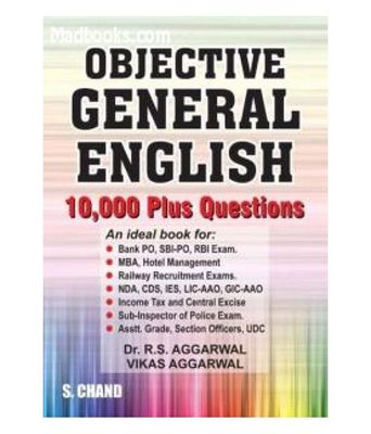Objective English Book By Rs Aggarwal