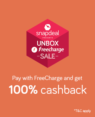 Snapdeal freecharge deals