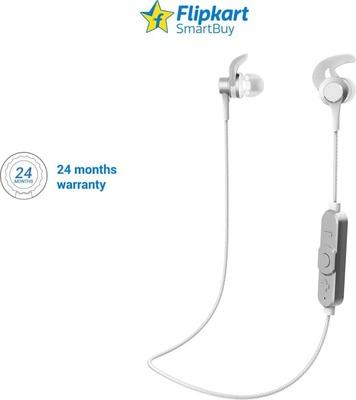 14dfbd2a024 Flipkart SmartBuy Wireless In the Ear Headphones (BT12MVP) (Silver ...