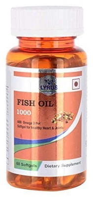 Lyrus fish oil with omega 3 60 softgels hot deals for Does fish oil expire