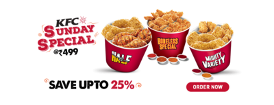 KFC or Kentucky Friend Chicken is one of the biggest restaurant chains in the world, and the biggest fried chicken chain in world. They're headquartered in Louisville, Kentucky.