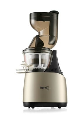 Pigeon Pure 150-Watt Slow Juicer (Gold/Black) DesiDime