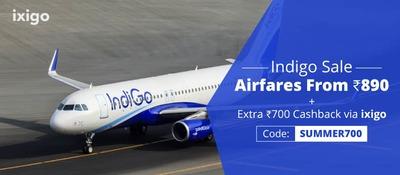 Indigo domestic flight discount coupons