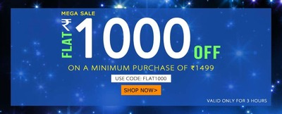 Flat Rs.1000 OFF on Yepme Men & Women Fashion Category + 20% extra on Online Payment low price