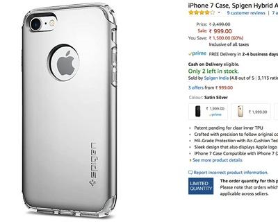 buy popular 83dd0 dc7c3 SPIGEN cases | Amazon | 60% or more | DesiDime
