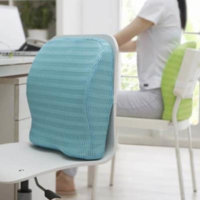 healthsense backrest cushion with memory foam soft spot bc 21