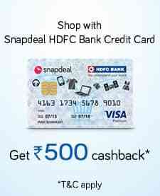 Card Cashback discount offer