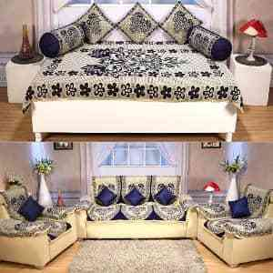 23 Pc Diwan Sofa Cover Set By Azaani Hurry Offer Ends Tonight