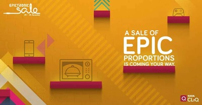 Tata cliq Electronic sale 23-26 November