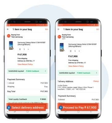 Flat INR8000 Cashback On Samsung Galaxy Note 8 S8 Amp S8