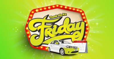 Unlimited Free Ola Rides This Friday All Ola Micro Mini Prime