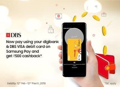 Samsung Pay Digibank Offer