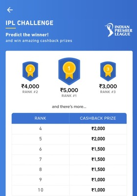 Zeta Food Premier league :- Predict the winner and win Up to 5000rs