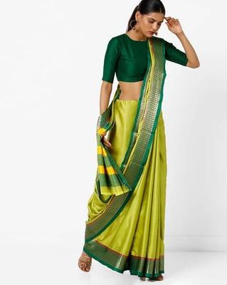 https://cdn0.desidime.com/attachments/photos/525518/medium/5153415ishaya-saree-with-contrast-striped-pallu.jpg?1533210224