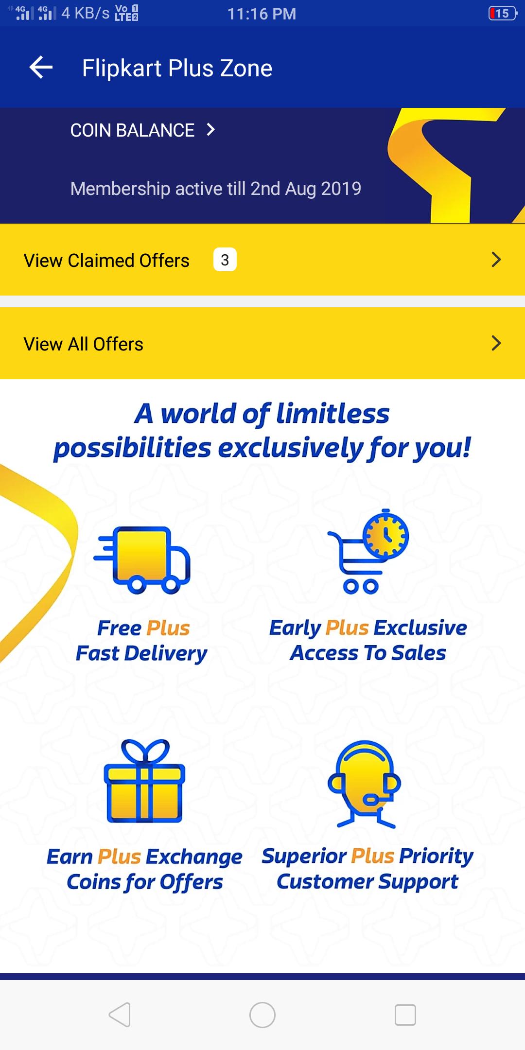 Flipkart app 6 6 (flipkart plus update) | DesiDime