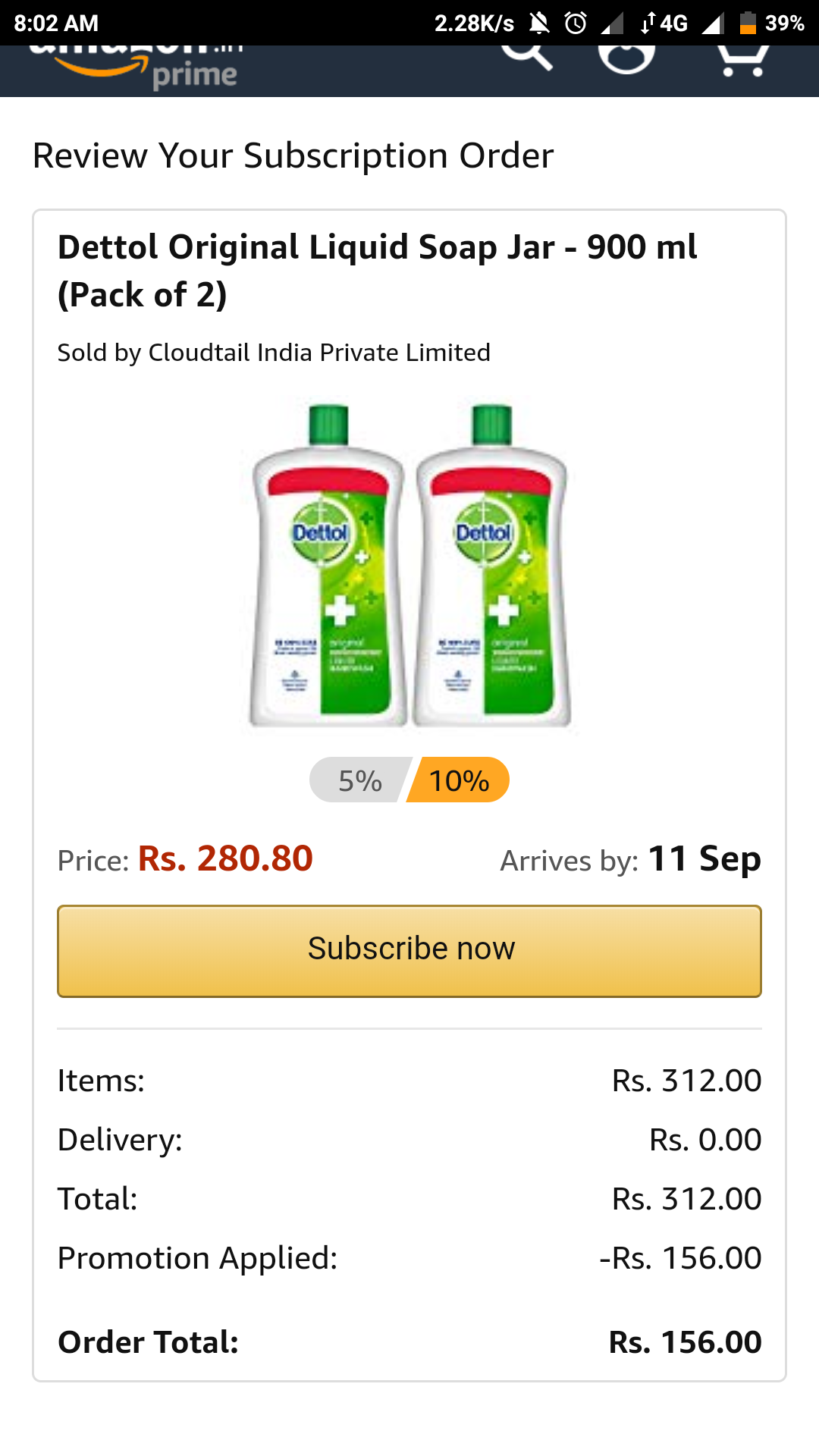 Loot Dettol Liquid Soap Jar 900 Ml Pack Of 2 156 Desidime Original Series Package Https Cdn0 Attachments Photos 526634