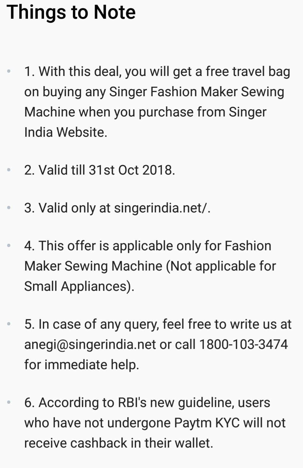 free deal:-Buy singer fashion maker sewing machine and get