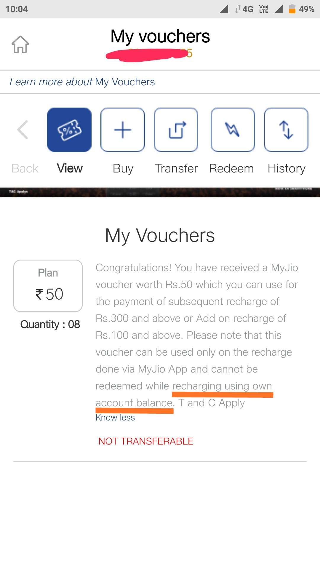 Jio- New terms and condition for voucher application  | DesiDime
