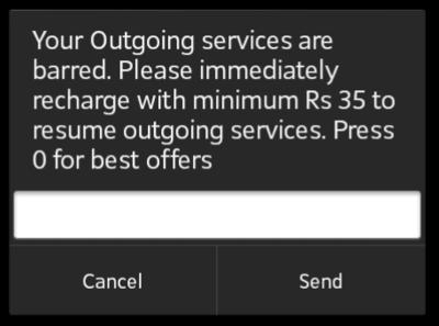 AIRTEL Vodafone Min RECHARGE NOT REQUIRED | DesiDime