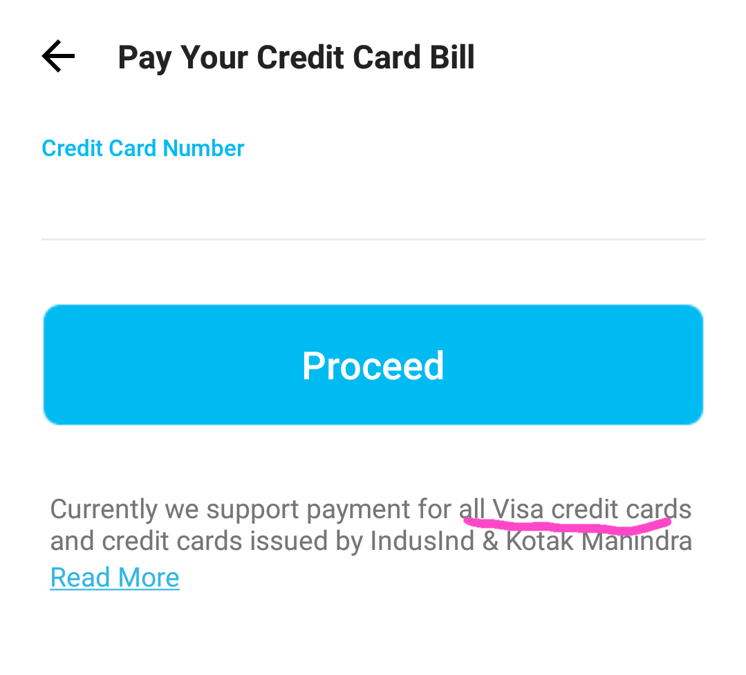 Paytm Credit Card Bill Pay Offer (5 Pe 200) (may Be User