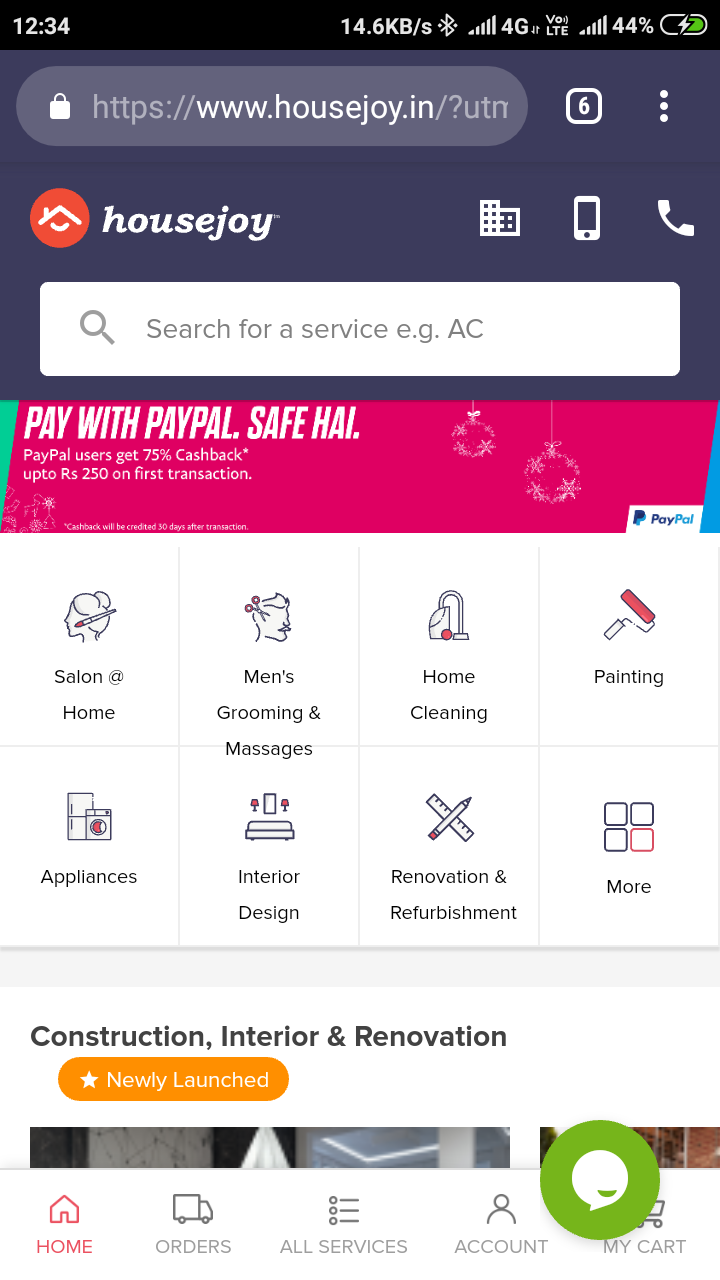 how to pay online internationally on snapdeal
