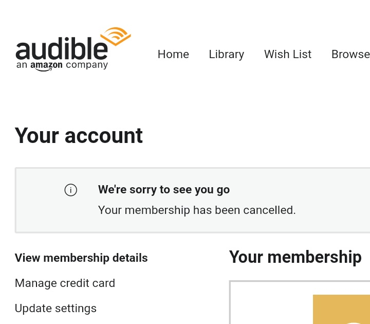 How to cancel Audible Membership | DesiDime