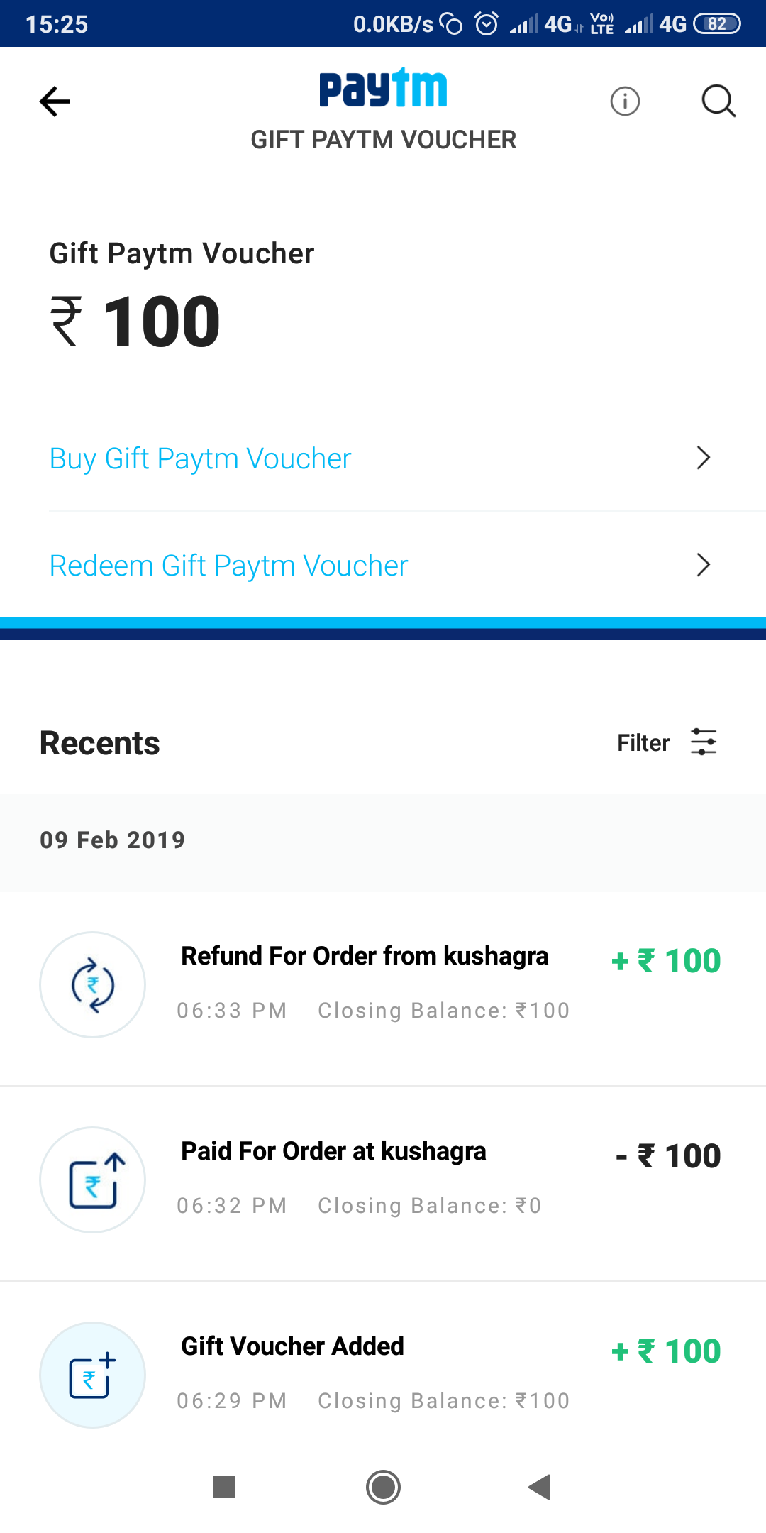 Now you can buy paytm vouchers on paytm, No Need of kyc