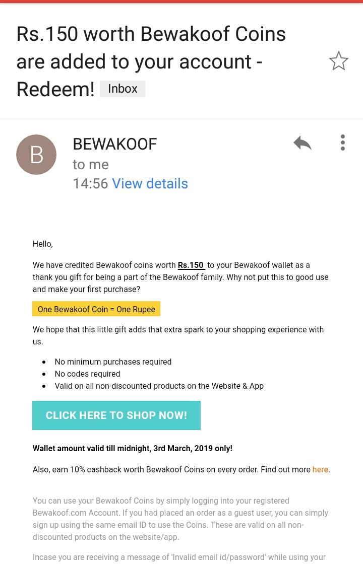 Shop at Bewakoof