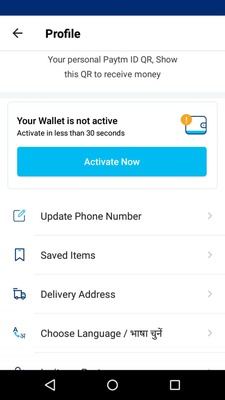 Unable to Add Money to Paytm Wallet & Paytm GV Wallet
