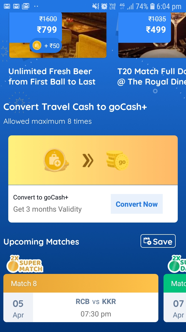 Page 4 of 4 for Goibibo Travel Cash Fest :- Keep the Goibibo