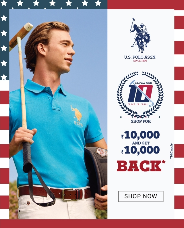 ae177cdf7c NNNOW : US Polo OFFER Shop for 10000 and Get 10000 Back (tnc) | DesiDime