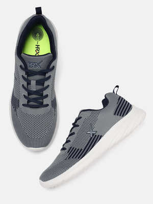 reputable site 5b92f a1ee3 HRX by Hrithik Roshan Men Grey Running Shoes 60%OFF