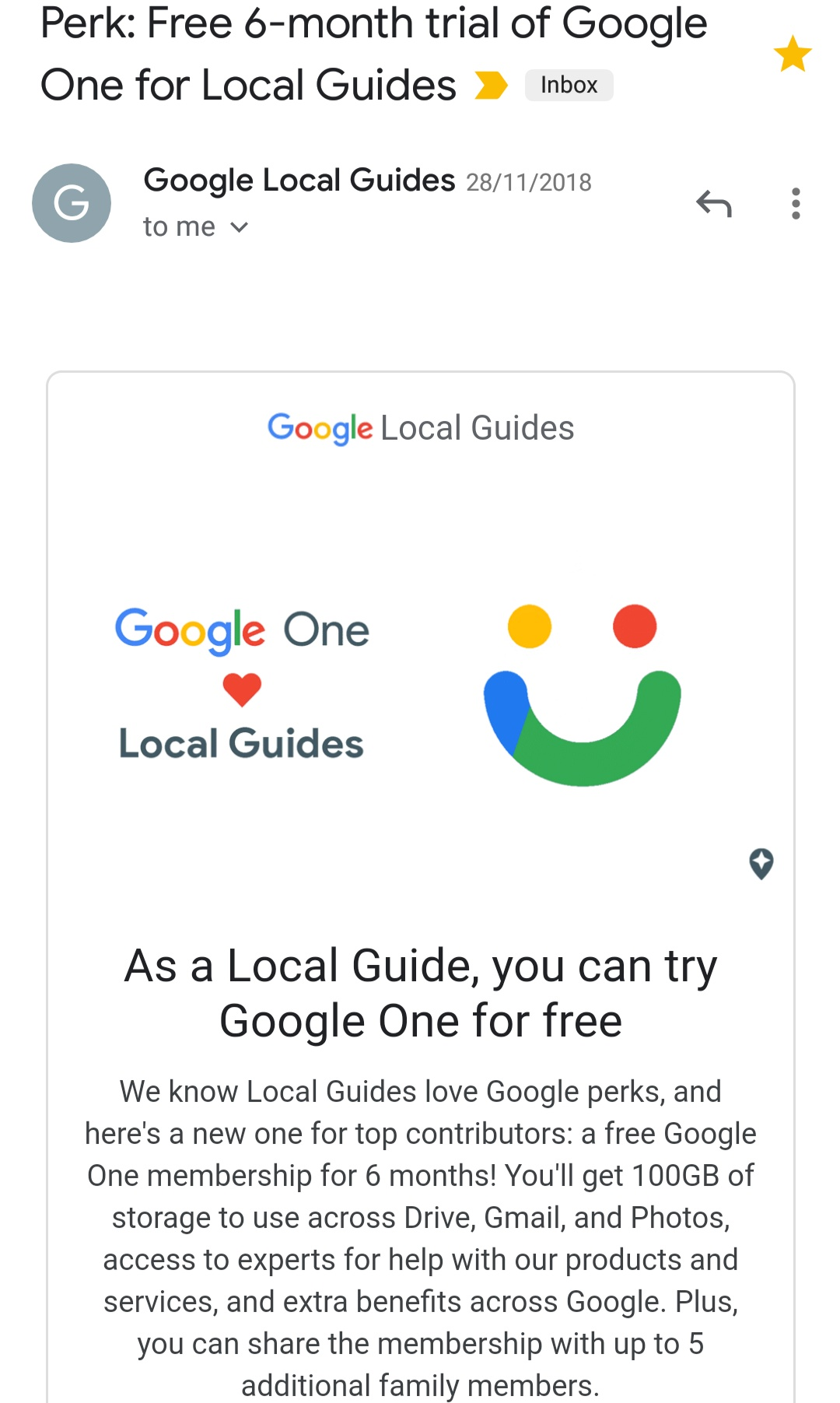 Google local guide benefits 2019