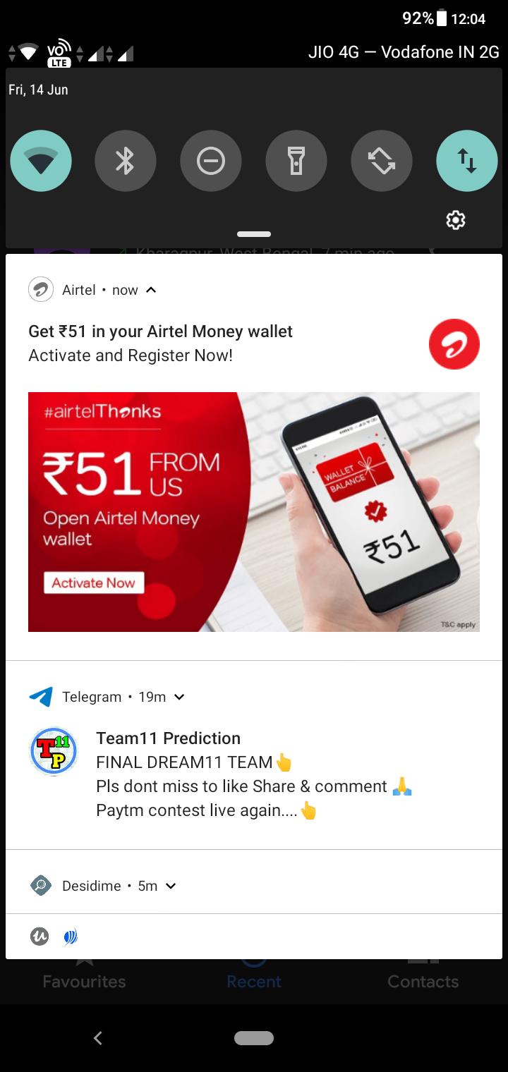 Get 51 in Airtel money wallet | DesiDime