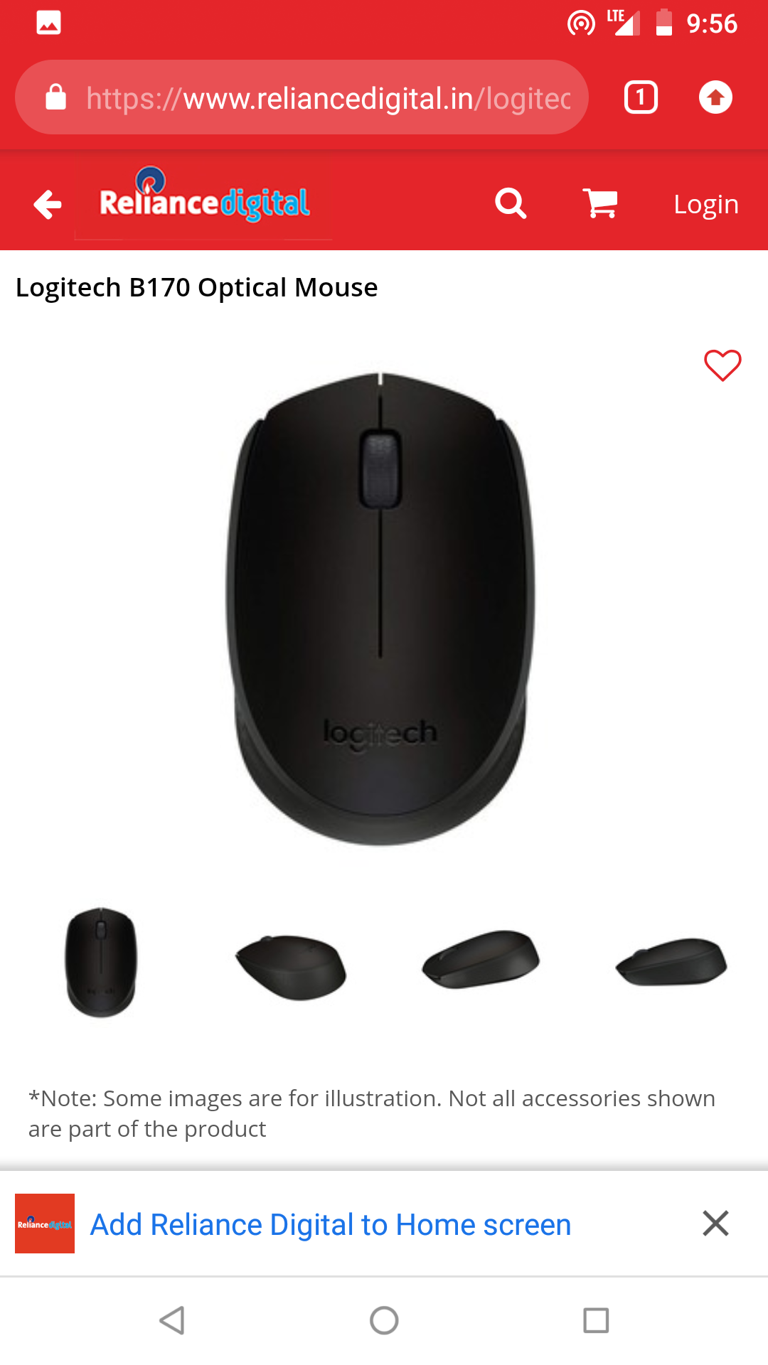 f1016f270c1 Logitech wireless mouse at RS 499 lowest price   DesiDime
