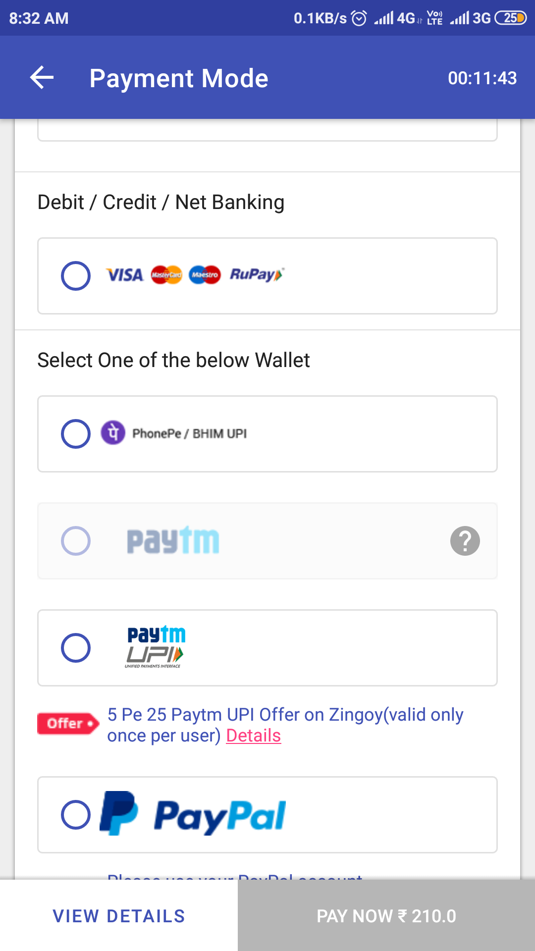 Zingoy 5 Pe 25 Offer: Make 5 transactions and get Rs 25