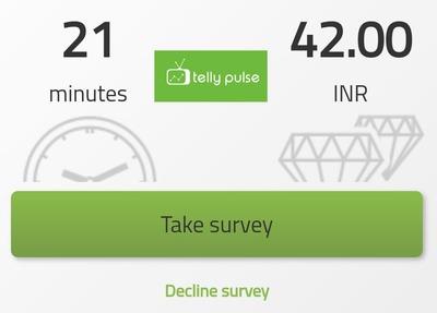 telly pulse surveys