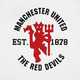 Manchester united red devils white shirt%281%29