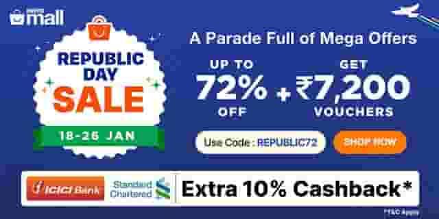 PaytmMall Republic Day Sale