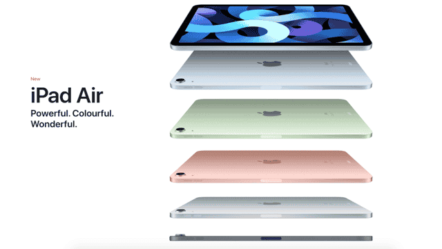 Apple's New iPad Air 2020 Features