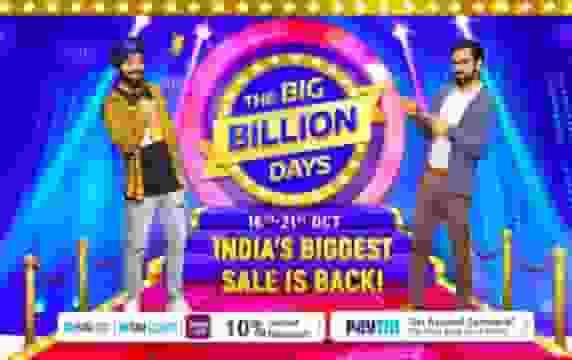 flipkart big billion days october 2020