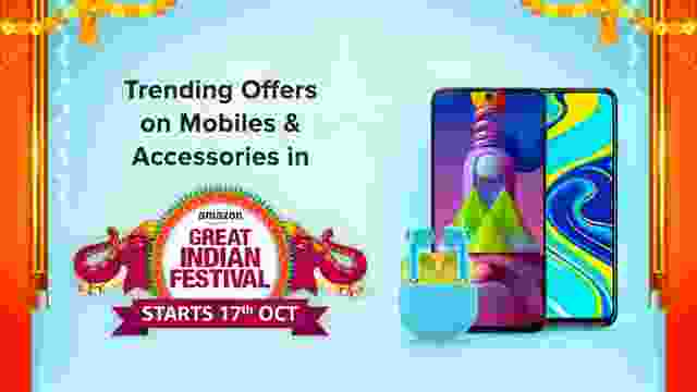 List of Mobiles & Accessories Offers and Deals on Amazon Great Indian Festival Sale(Live)