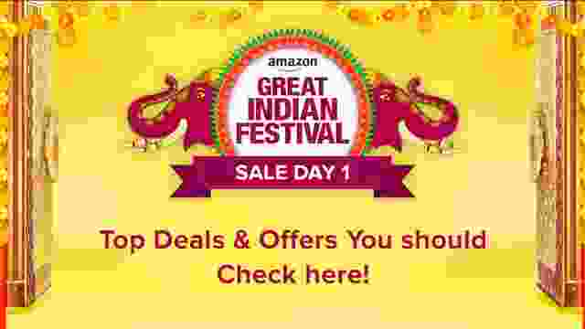 amazon great indian festival sale day 1 deals