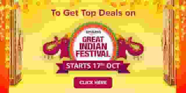 amazon great indian festival sale top deals