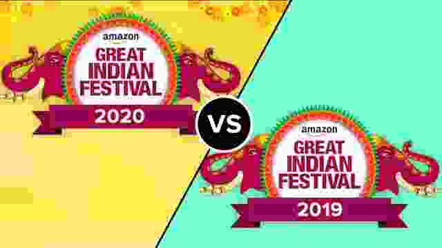 Amazon Great Indian Festival Sale 2020 so far as compare to the 2019 Sale
