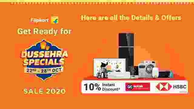 Get Ready for Flipkart Dussehra Sale 2020. Here are all the Details & Offers