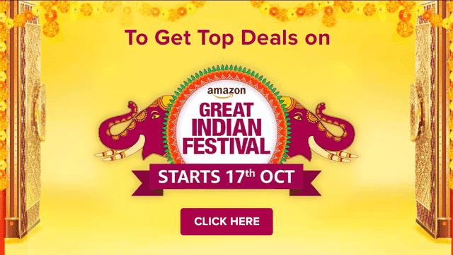 amazon great indian festival top deals