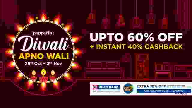 Pepperfry Diwali Sale 2020 kicks Off with Diwali Apno Wali Sale - Here are all the details